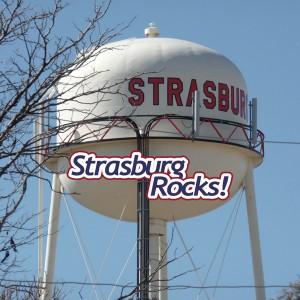 Strasburg Rocks! water tower