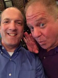 Alan with Rich Guzzi