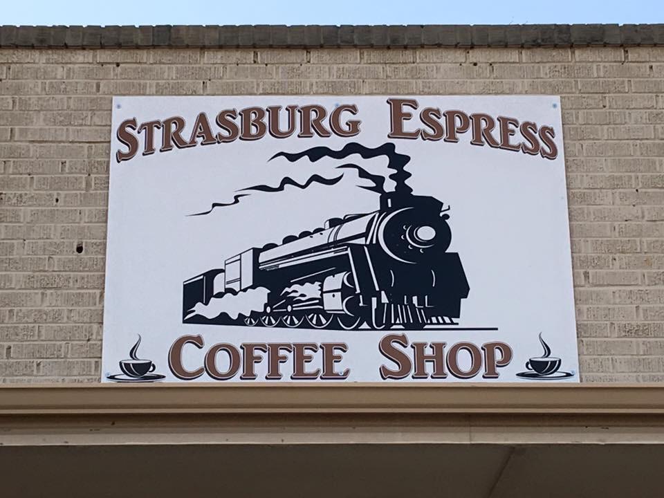 Strasburg Espresso sign